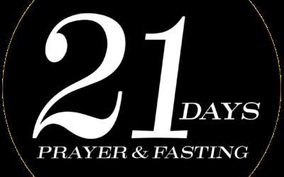 21-Day Prayer & Fasting